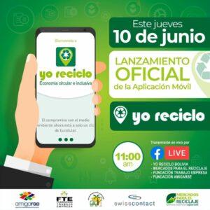 """Die App """"Yo Reciclo"""" wurde am 10. Juni gelauncht."""